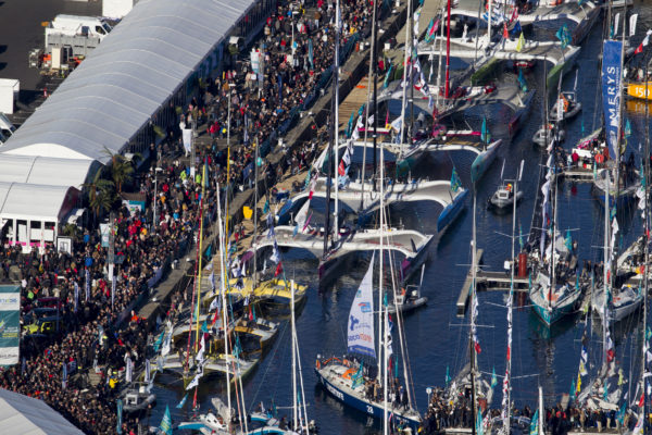 Les bateaux de la Route du Rhum-Destination Guadeloupe 2018 - Saint Malo le 02/11/2018
