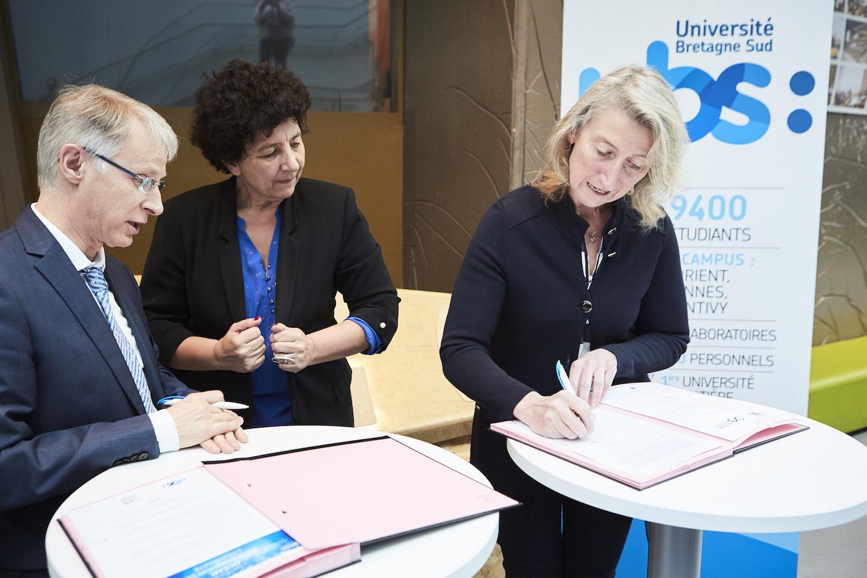 L'Université Bretagne Sud (UBS), première université à rejoindre l'Appel pour un « Océan, bien commun de l'Humanité »